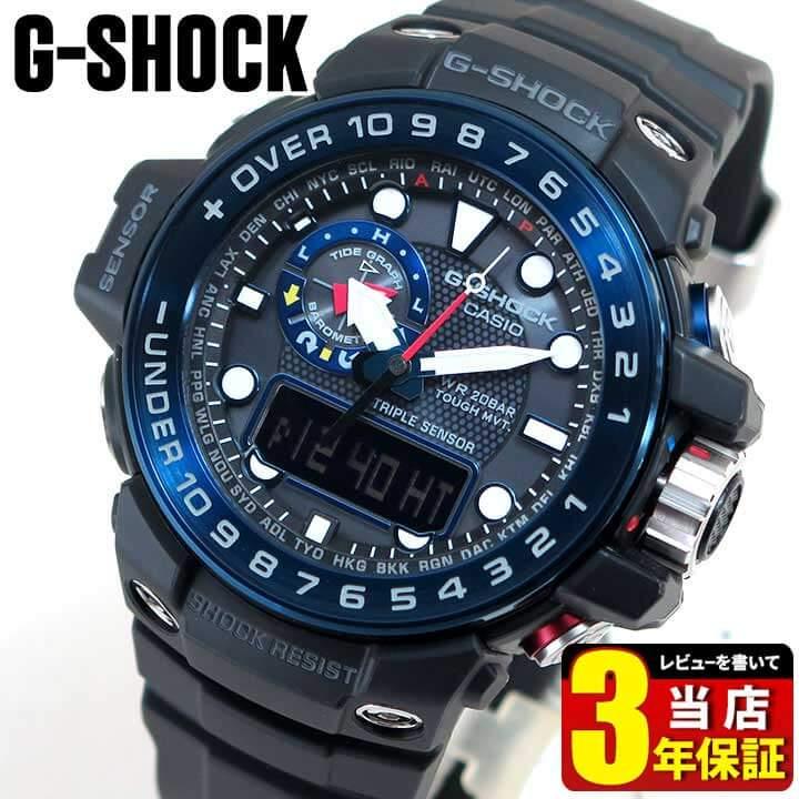 腕時計, メンズ腕時計 CASIO G-SHOCK G GULFMASTER GWN-1000B-1B
