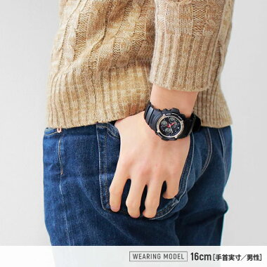 カシオG-SHOCK腕時計GショックCASIOアウトドアからビジネスユースまでCASIOのGショックが50%OFF!!アナデジコンビモデルAW-590-1ADRブラックメタルベゼルが印象的!