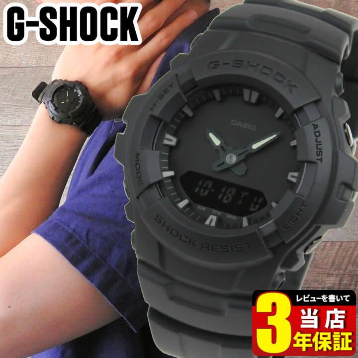 腕時計, メンズ腕時計 CASIO G-SHOCK G G-100BB-1A