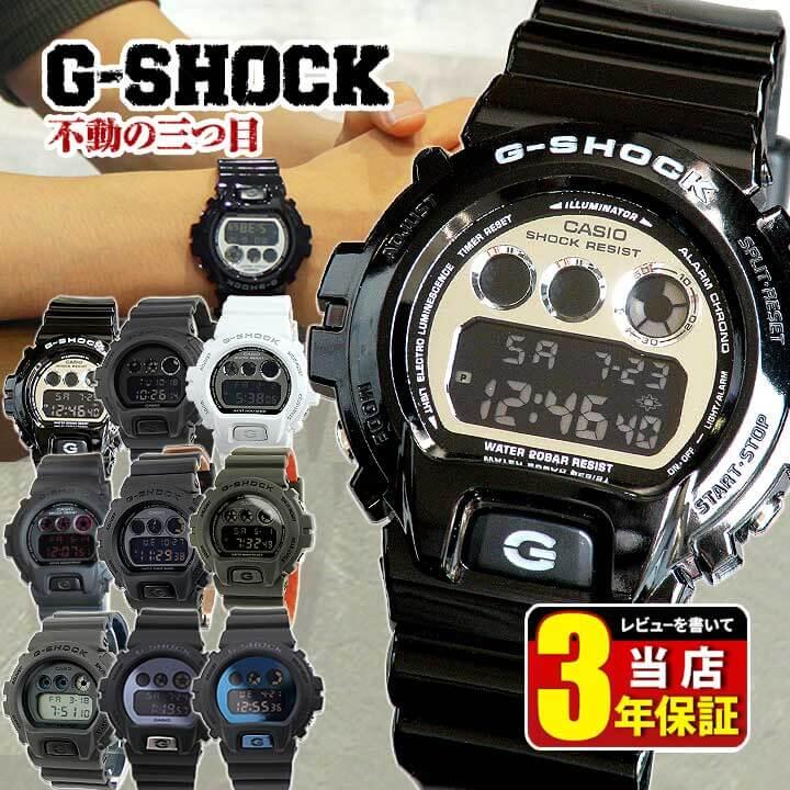 腕時計, メンズ腕時計 CASIO G-SHOCK G DW-6900NB-1