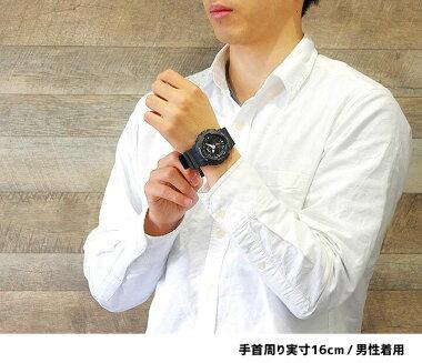 【CASIO】カシオ【G-SHOCK】GショックGA-120-1Aブラック×レッドアナデジコンビネーション迫力のあるビッグフェイスメカニカルなデザイン【腕時計】【_包装】メンズ腕時計【父の日】