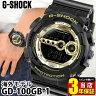商品到着後レビューを書いて3年保証 CASIO カシオ G-SHOCK Gショック ジーショック gshock GD-100GB-1海外モデル 腕時計 メンズ 時計 多機能 防水 ウォッチ ゴールド ブラック 金色 黒スポーツ 誕生日プレゼント 父の日 ギフト