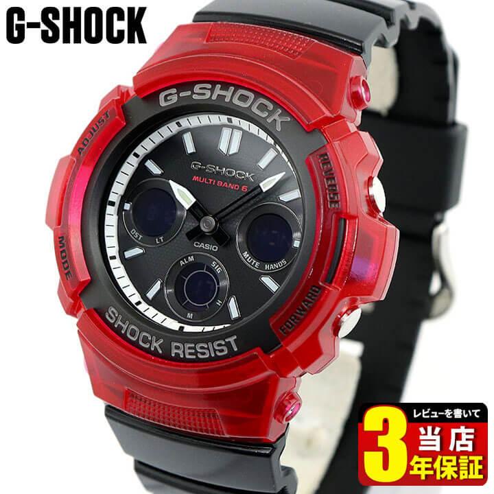腕時計, メンズ腕時計 CASIO G-SHOCK G AWG-M100SRB-4A