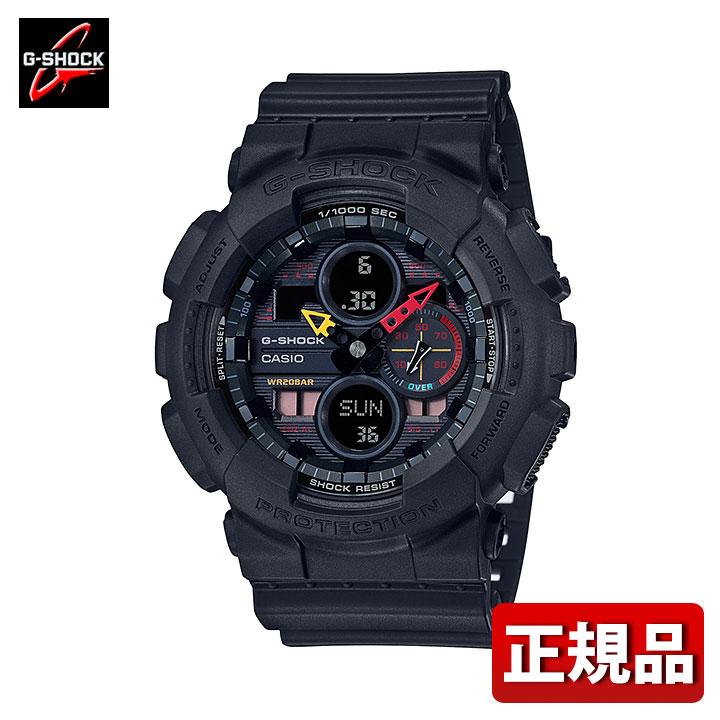 腕時計, メンズ腕時計 CASIO G-SHOCK G Black Neon GA-140BMC-1AJF