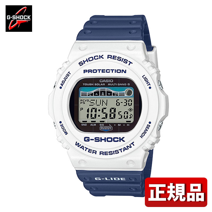 CASIO G-SHOCK white CASIO G-SHOCK G G-LIDE GWX-5...