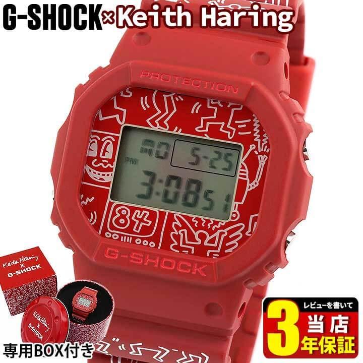 腕時計, メンズ腕時計 BOX CASIO G-SHOCK G Keith HaringG-SHOCK DW-5600KEITH-4 3