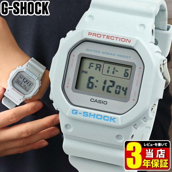 CASIOカシオG-SHOCKGショックジーショックユースカルチャーモデルデジタル腕時計時計グレーメンズDW-5600SC-8防