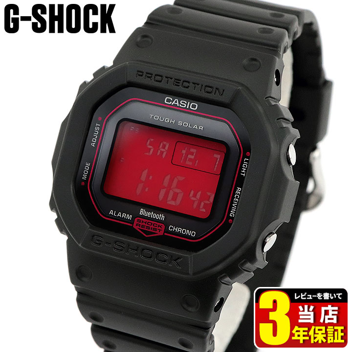 腕時計, メンズ腕時計 CASIO G-SHOCK G Black and Red Series GW-B5600AR-1