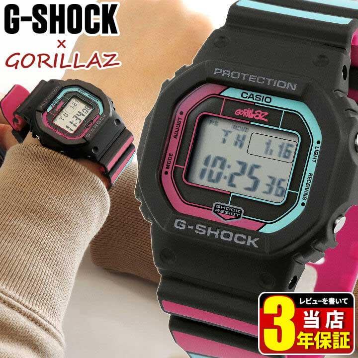 腕時計, メンズ腕時計  CASIO G-SHOCK G Gorillaz GW-B5600GZ-1