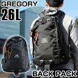 ★送料無料 GREGORY グレゴリー 65109-1041 メンズ バッグ 黒 ブラック デイバッグ リュック バックパック 鞄 カバン 誕生日 ギフト