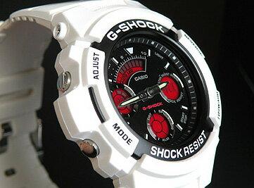 CASIOカシオGショックAW-591SC-7ADR海外モデルクレイジーカラーズNEWカラーモデルアナログ/デジタルコンビネーションG-SHOCK腕時計