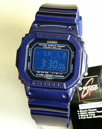 【CASIO】カシオG-SHOCK G-5600CC-2DRブルー