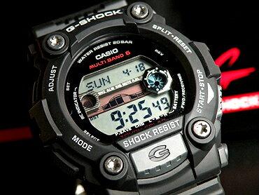 CASIOカシオGショックGW-7900-1ER海外直輸入モデルソーラー電波マルチバンド6搭載タイドグラフ・ムーンデータ機能付きG-SHOCK男性用腕時計