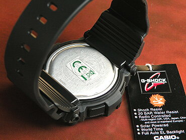 カシオCASIOG-SHOCKGショックGSHOCKジーショックソーラー電波電波ソーラーカジュアルメンズ腕時計新品時計多機能防水黒ブラックGW-7900B-1海外モデル【_包装】父の日ホワイトデー