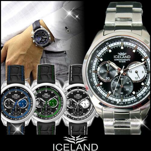 メンズ 腕時計 時計 クロノグラフ 腕時計 カジュアル ウォッチ カラー 腕時計 IL-4174 誕生日プレ...