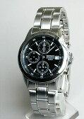 ★送料無料 SEIKO セイコー 逆輸入メンズ 腕時計 SND367PC SND367P1 正規海外モデル クロノグラフ アナログ タキメーター 日本製ムーブメント 誕生日プレゼント ギフト