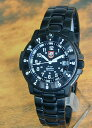 LUMINOX腕時計発光式ガスカプセル採用 ルミノックスナイトホーク 重厚 メタル ベルト NIGHTHAWK T25有り パイロットシリーズ3402(3400PVD)メンズ 腕時計 時計 ミリタリー メンズ 腕時計 時計 誕生日プレゼント 男性 バレンタイン ギフト