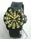LUMINOX ルミノックス Navy SEALs ネイビーシールズ 3050シリーズ No.3055 カラーモデルシリーズ(イエロー)ミリタリー ラバー ベルト 腕時計メンズ 腕時計 時計 誕生日プレゼント 男性 バレンタイン ギフト