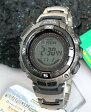 ★送料無料 CASIO カシオ 腕時計 時計 PROTREK PRO TREK PRW-1500T-7プロトレック タフ ソーラー 電波時計 軽量で錆にも強いチタン製 誕生日 ギフト