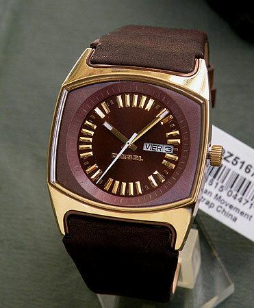 ディーゼル 時計 腕時計 レディース watchDIESEL DZ5167ボーイズサイズ ゴールド×ブラウン 人気の...
