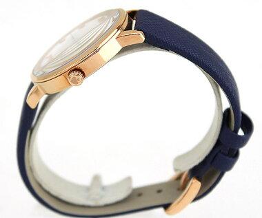 KateSpadeケイトスペードKSW1040海外モデルレディース腕時計ウォッチ革バンドレザークオーツアナログ白ホワイト青ネイビー