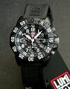 LUMINOX ルミノックス3081 クロノグラフ ブラック ミリタリー メンズ 腕時計 誕生日プレゼント 男性 バレンタイン ギフト