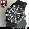 ★送料無料 LUMINOX ルミノックス Navy SEALs ネイビーシールズ ダイブ カラーマークシリーズ ラバー ベルト 7051 ミリタリー レディース 腕時計時計