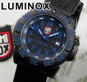 LUMINOX ルミノックス Navy SEALs ネイビーシールズ 3050シリーズ No.3053 カラーマークシリーズ ブルー 青 ミリタリー ラバー ベルト メンズ 腕時計時計 誕生日 誕生日プレゼント 男性 バレンタイン ギフト