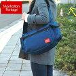 ★送料無料 Manhattan Portage マンハッタンポーテージ HERALD SQUARE SHOULDER 1465-NVY 海外モデル メンズ レディース バッグ ショルダー ブルー