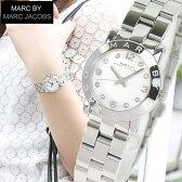 マークバイマークジェイコブス 時計 MARC BY MARC JACOBS MARCJACOBS マークバイマークMBM3055スモール レディース 腕時計 シルバー 誕生日プレゼント ギフト