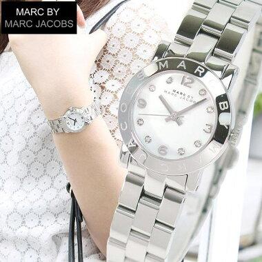 マークバイマークジェイコブス【MARCBYMARCJACOBS】【SmallAmy】MBM3055スモールエイミーレディース腕時計シルバーメタルバンド【smtb-KD】【楽ギフ_包装】