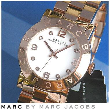マークバイマークジェイコブス【MARCBYMARCJACOBS】【Amy】MBM3077エイミーレディース腕時計ピンクゴールドメタルバンド【smtb-KD】【楽ギフ_包装】
