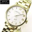 ★送料無料 MARC BY MARC JACOBS マーク バイ マーク ジェイコブス ベイカー MBM3243 海外モデル レディース 腕時計時計クオーツ ゴールド 誕生日 ギフト