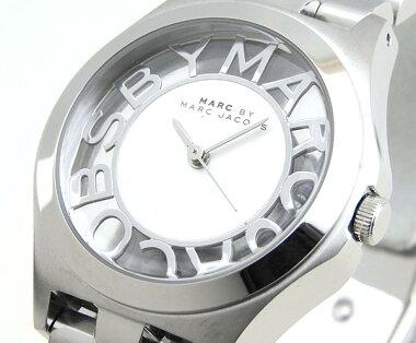 レビューを書いて★送料無料マークバイマークジェイコブスMARCBYMARCJACOBSMARCJACOBSマークバイマークMBM3291ヘンリースケルトンHenrySkeltonレディース腕時計時計シルバー