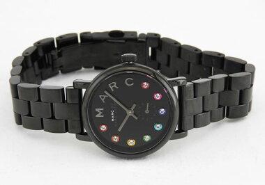 MARCBYMARCJACOBSマークバイマークジェイコブスBakerベイカーGlitzグリッツMBM3425海外モデルレディース女性用腕時計ウォッチ黒ブラック