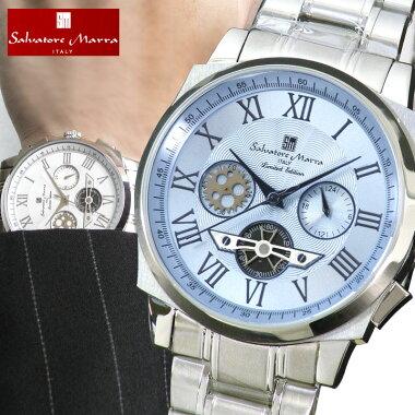 SalvatoreMarraサルバトーレマーラメンズ腕時計新品時計SM-1201クロノグラフクオーツ【楽ギフ_包装】【あす楽対応】【あす楽_土曜営業】