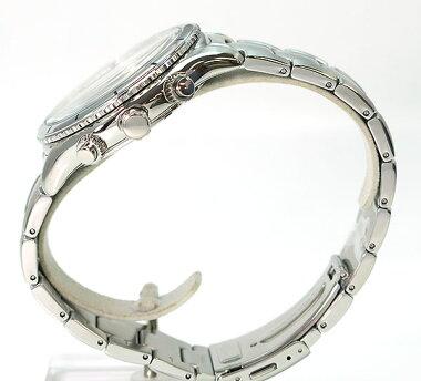 レビューを書いて★送料無料SEIKOセイコーSRW033P1クロノグラフカレンダーメンズ腕時計男性用時計ウォッチクオーツアナログシルバーホワイト白