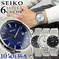 SEIKO セイコー Neo Classic ネオクラシック メンズ 腕時計 メタル カレンダー クオーツ アナログ 黒 ブラック 白 ホワイト 青 ブルー 銀 シルバー 海外モデル 誕生日 男性 ギフト プレゼント