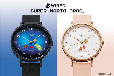 WIRED×スーパーマリオブラザーズのコラボ腕時計は限定1,200本の超レア品。ただいま先行予約受付中!