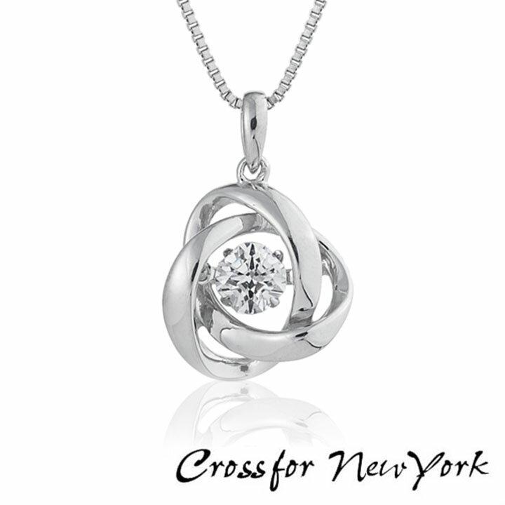 レディースジュエリー・アクセサリー, ネックレス・ペンダント Crossfor New York NYP-588 Loop2 925