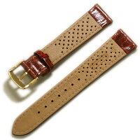 【ディモデル】クロコダイルゴールドブラウン【時計ベルト時計屋ネット】