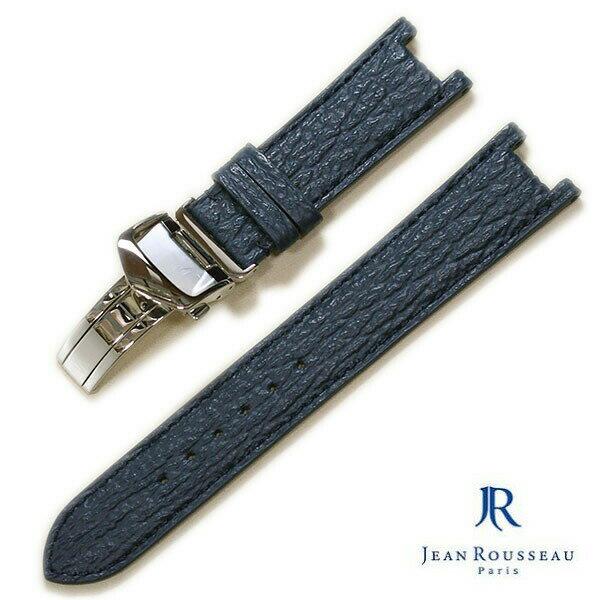 【ジャンルソー】パシャ対応(バンビ片開きプッシュ式Dバックル付き)シャーク時計ベルト
