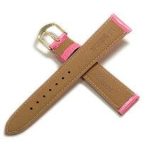 【ミモザ】リザードCMピンク時計ベルト
