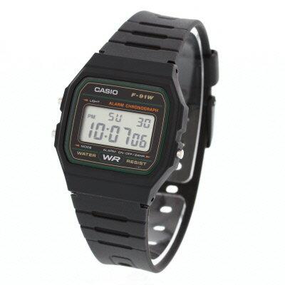 CASIO f91w watch 5CASIO CASIO QUARTZ F91W-3 LED