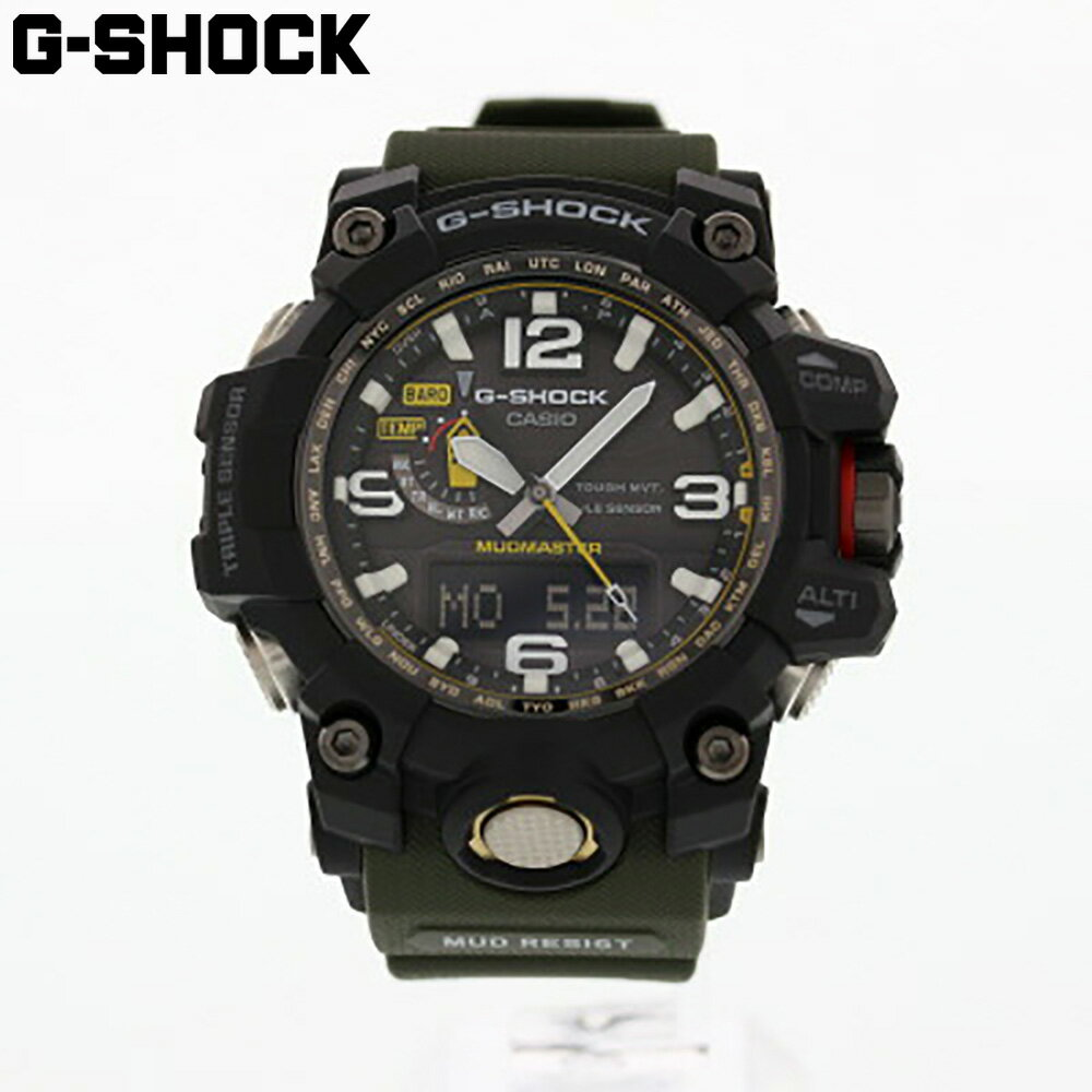 腕時計, メンズ腕時計 CASIO G-SHOCK G MASTER OF G G MUDMASTER GWG-1000-1A3 1