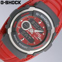 【即納】人気のレザータイプバンド赤 G-SPIKEシリーズCASIO/カシオ G-SHOCK G-300L-4AVDR
