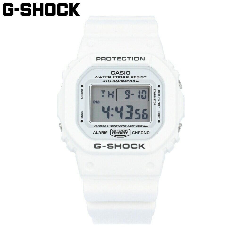 腕時計, メンズ腕時計 CASIO G-SHOCK DW-5600MW-7 Marine White