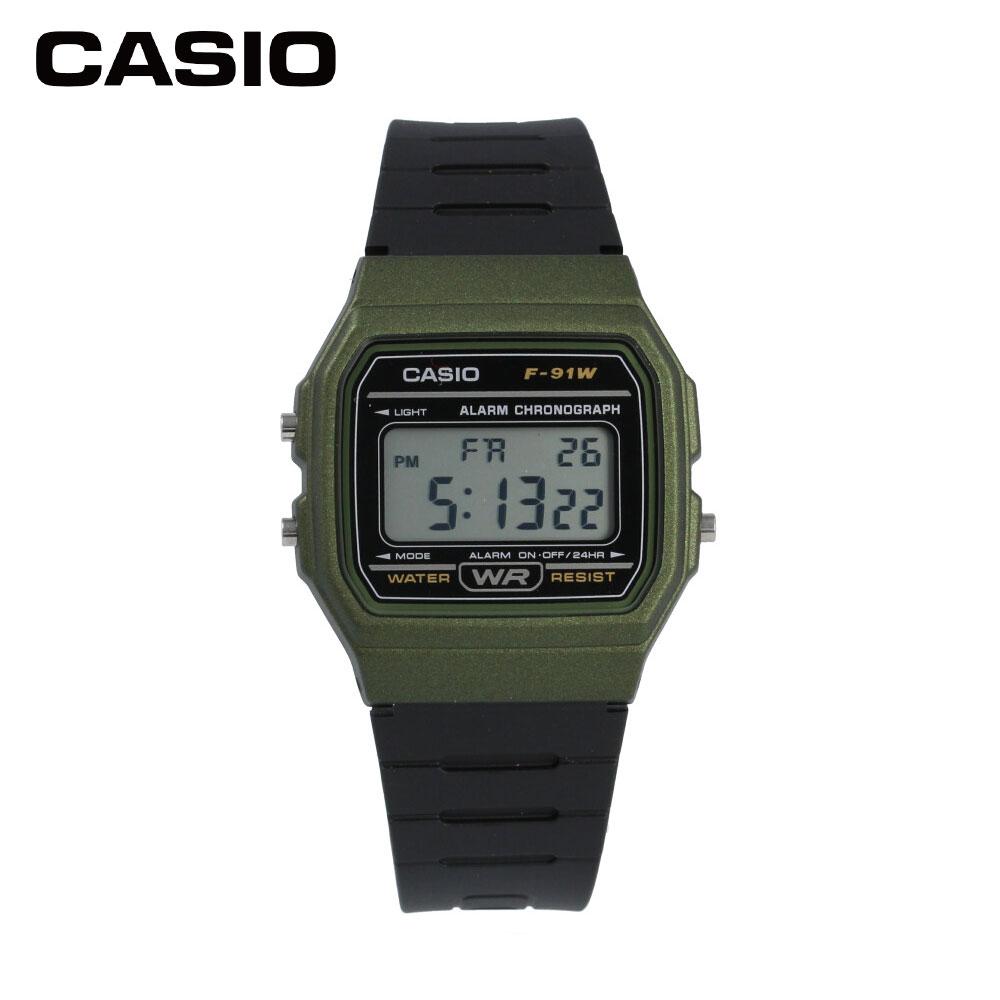 CASIO f91w watch CASIO F91WM-3A 1