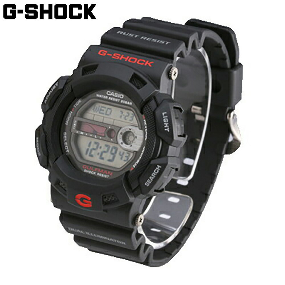 腕時計, メンズ腕時計 CASIO G-SHOCK G-9100-1 Master of G GULFMAN