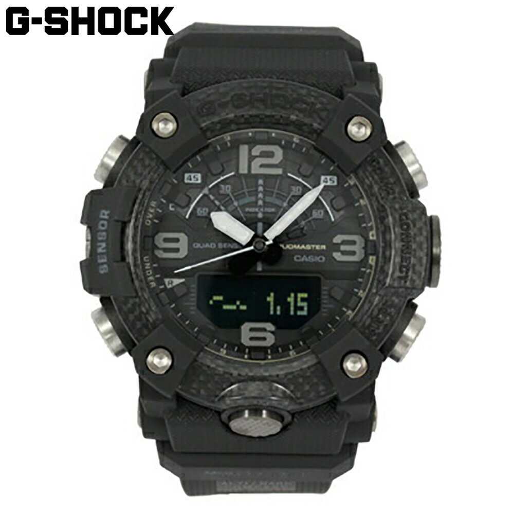 腕時計, メンズ腕時計 CASIO G-SHOCK G MASTER OF G G MUDMASTER Bluetooth GG-B100-1B 1